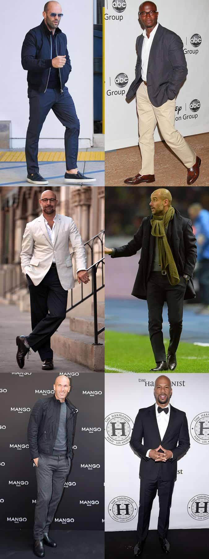 Bald Male Celebrities