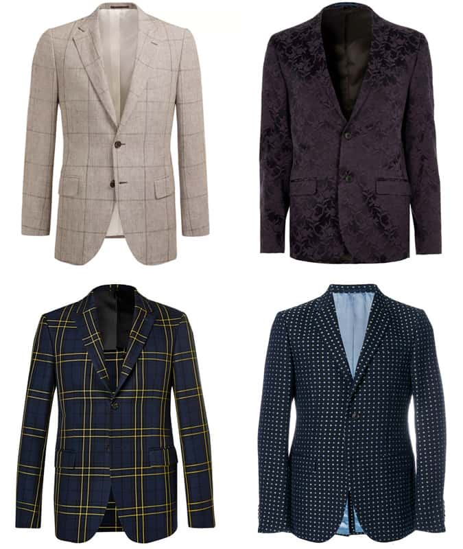 Men's Printed and Patterned Suits