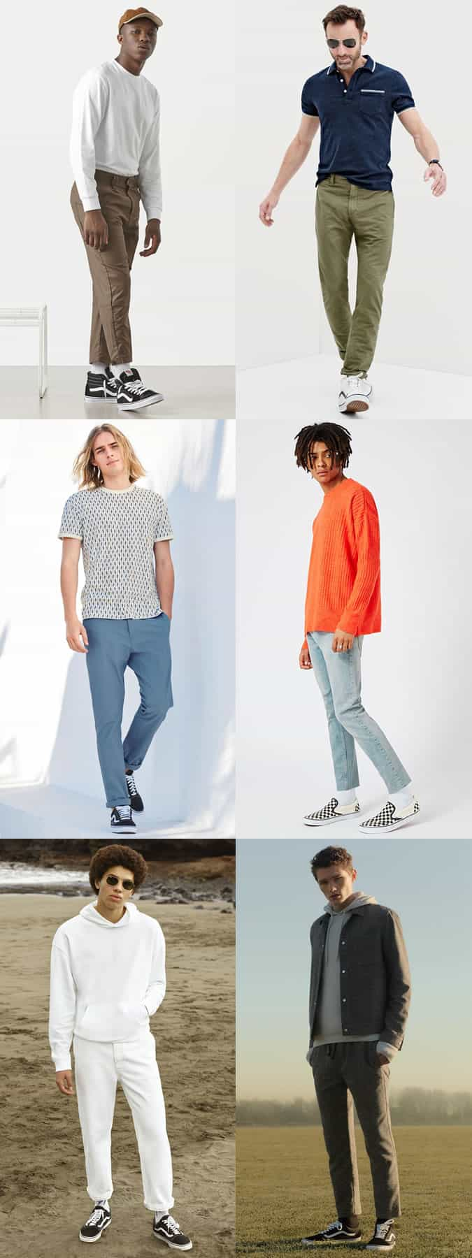 how to wear skate shoes and skate trainers like Vans