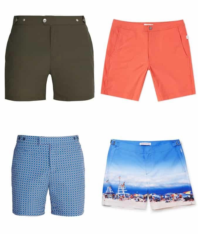 best tailored swim shorts for men