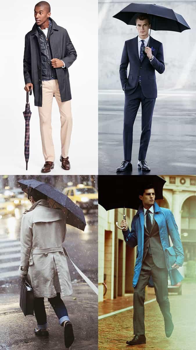 stylish umbrellas for men