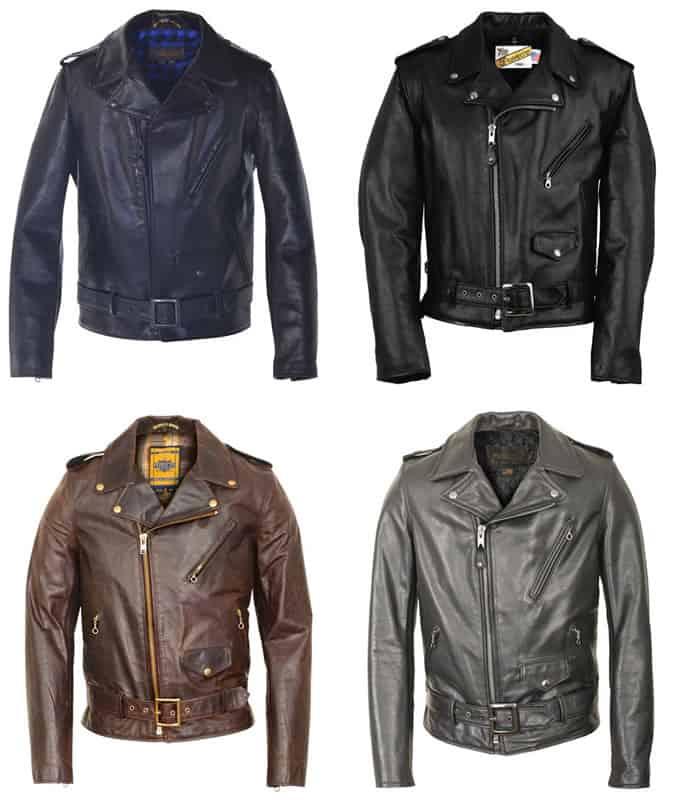 Schott Perfecto leather jacket for men