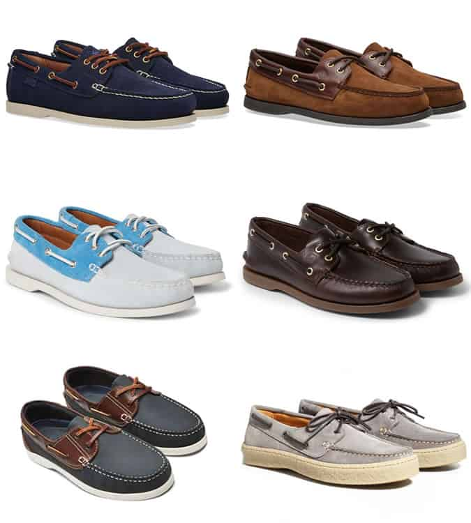 The best men's boat shoes for summer 2017