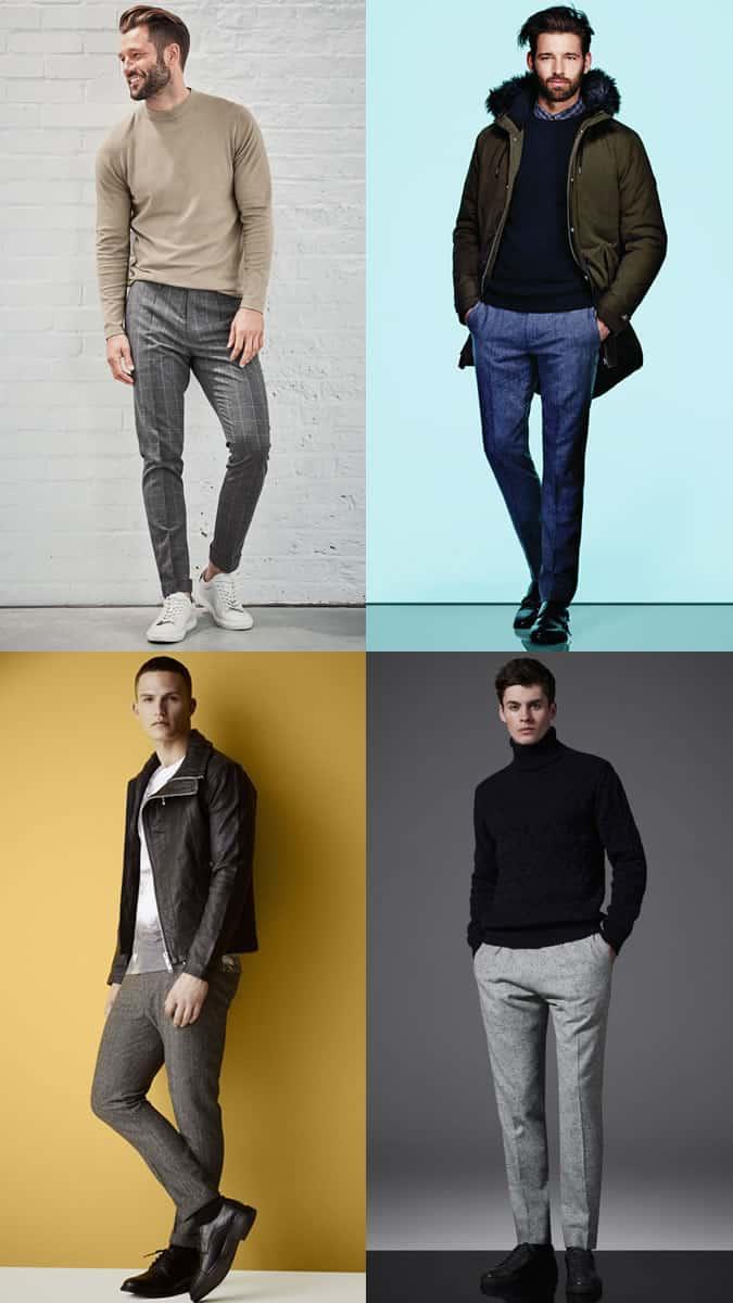 how to wear wool trousers in winter