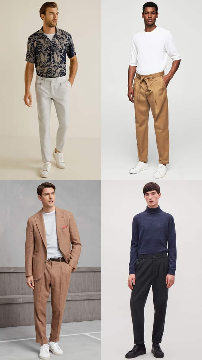 How To Wear High-Waisted Trousers