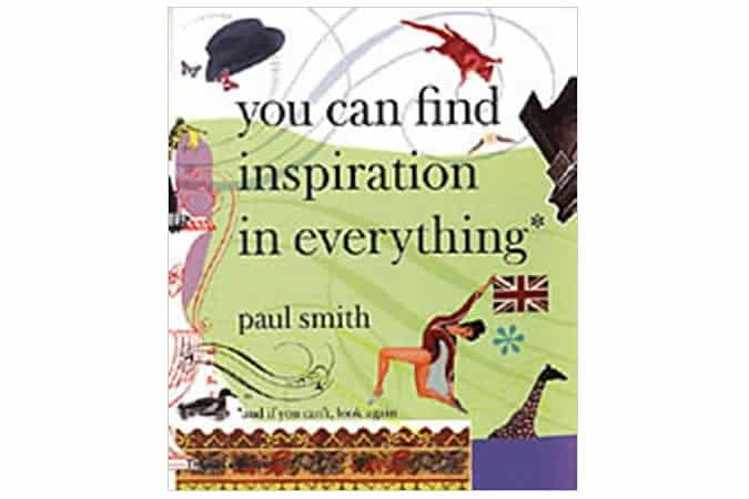 You Can Find Inspiration In Everything Book