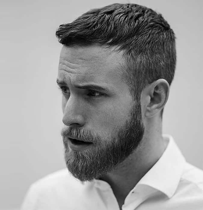 The Short Crop Hairstyle for men