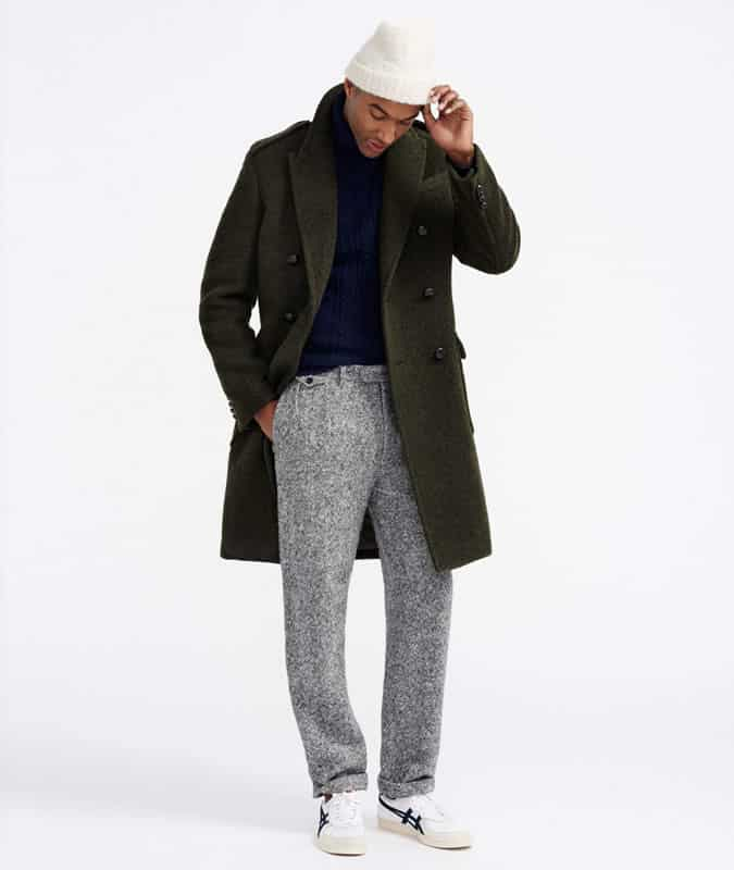 how to wear wider leg trousers