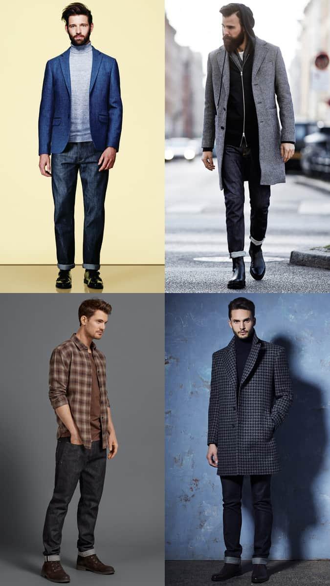 How To Wear Dark Jeans In Winter