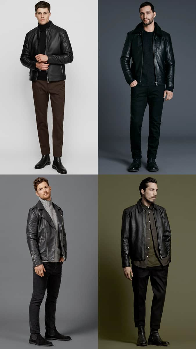 The Best Leather Jackets For Winter
