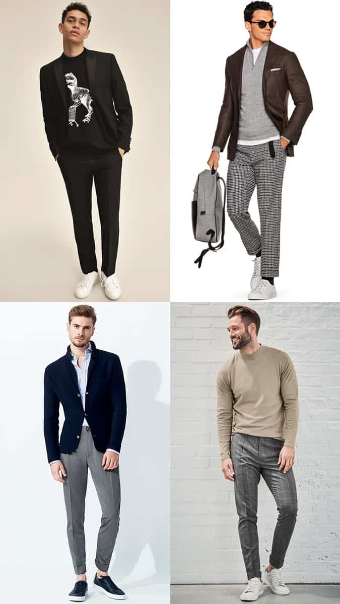 How To Wear Trainers To Work