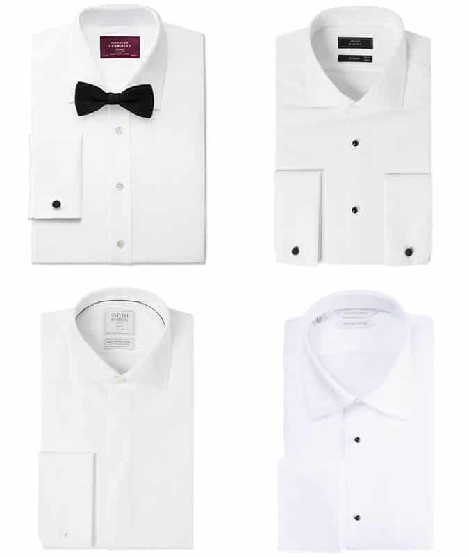 The best men's black tie dress shirts