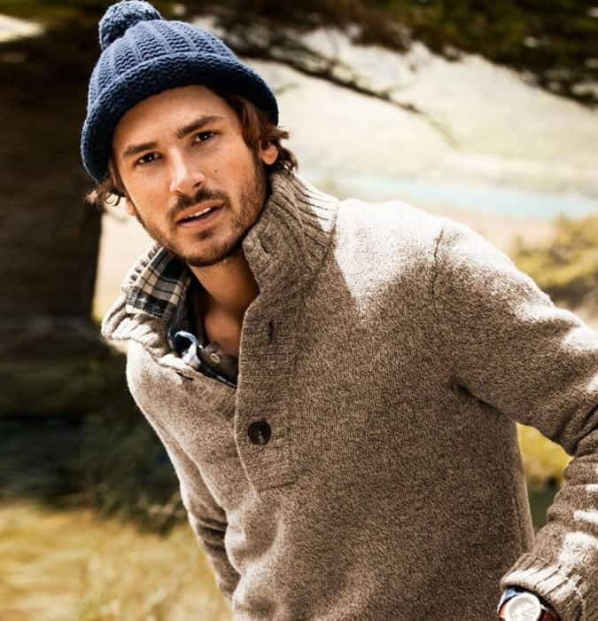 How to wear a bobble hat for men