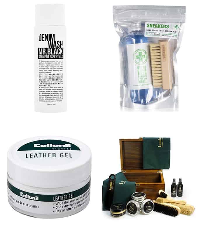 Men's wardrobe maintenance products