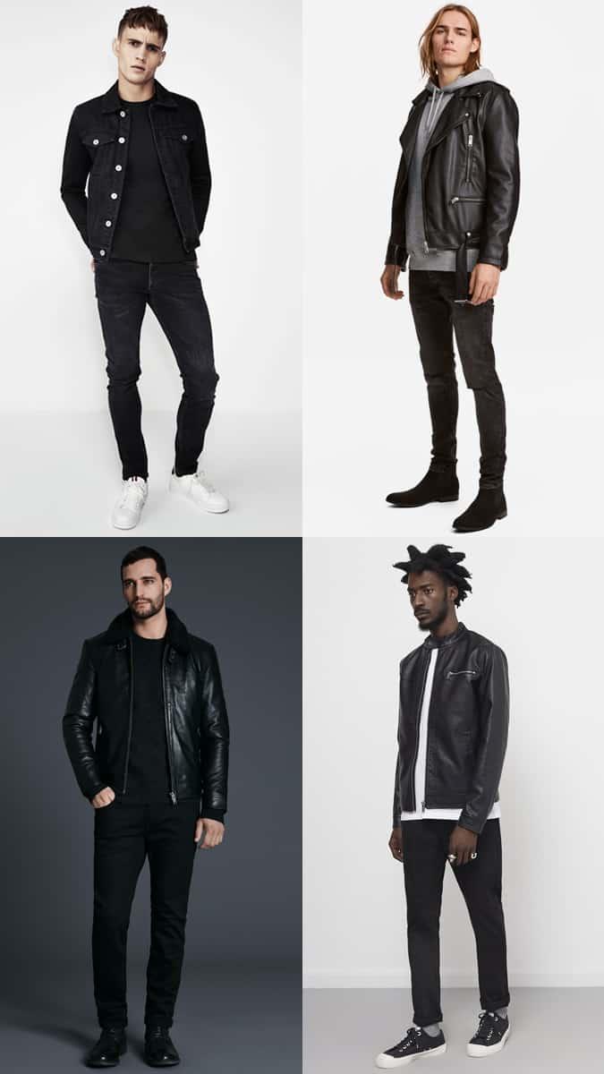 Ways To Wear Black For Men