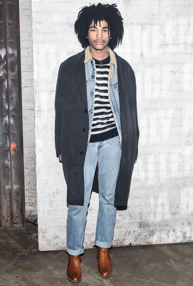 Luka Sabbat Wearing A Layered Outfit
