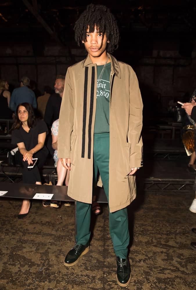 Luka Sabbat AT Fashion Week