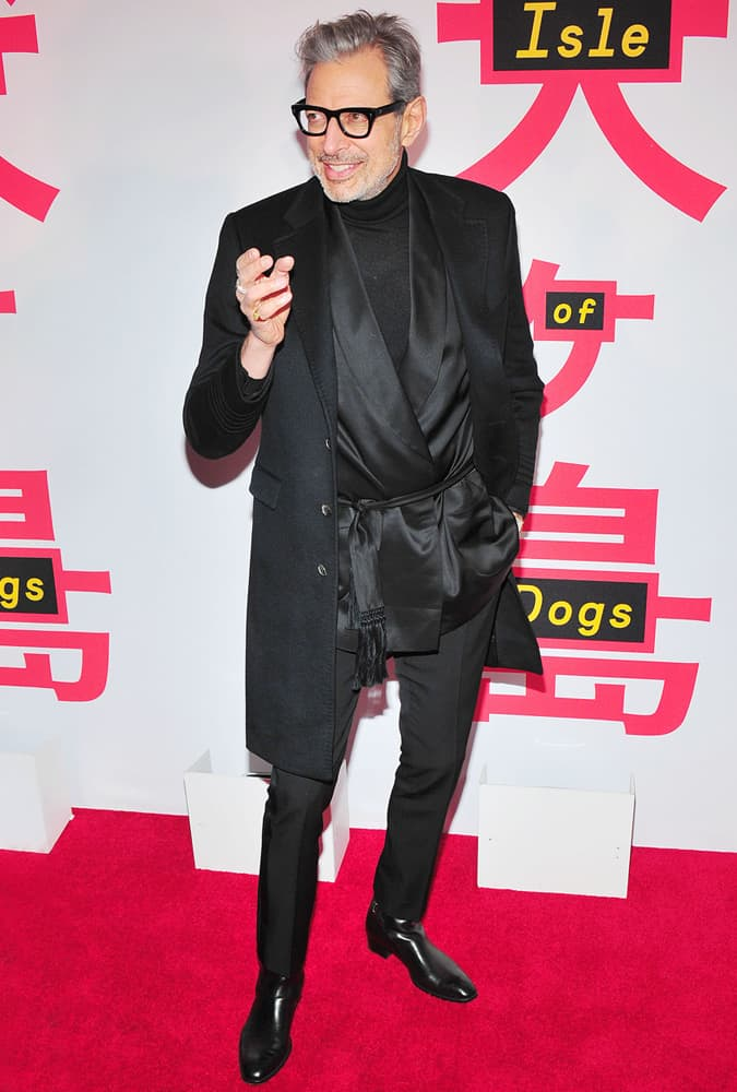 Jeff Goldblum Isle Of Dogs Premiere