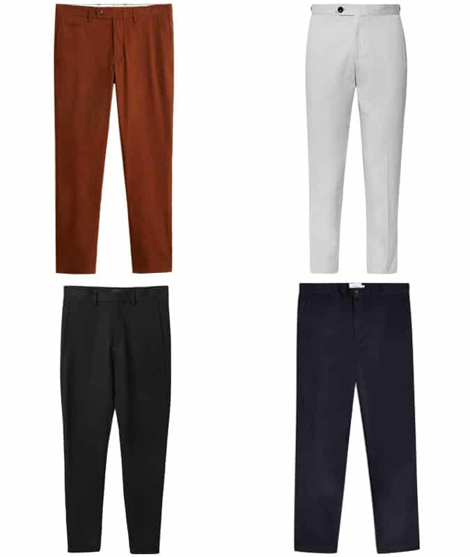 the best dropped trousers for men
