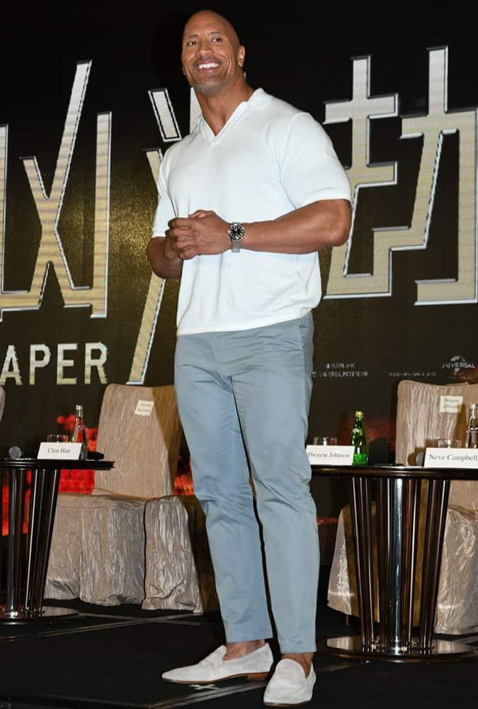 15 Of Dwayne The Rock Johnson's Best Looks