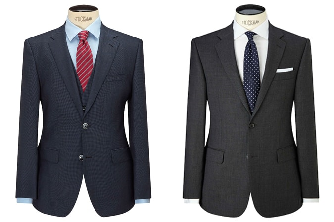 Men's Classic Fitting Suits