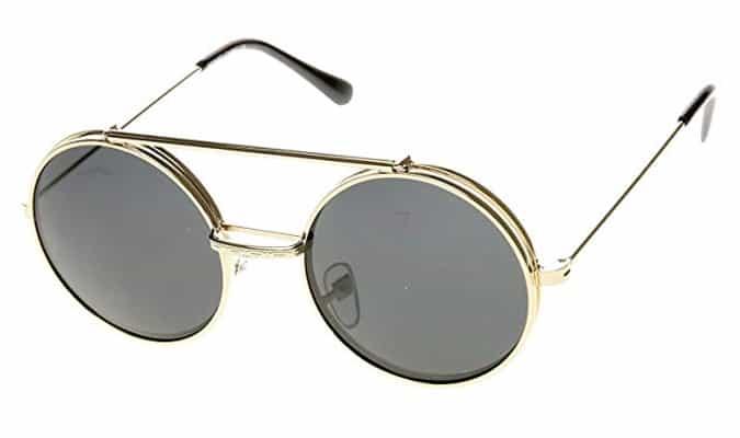 Round Circle Django Sunglasses
