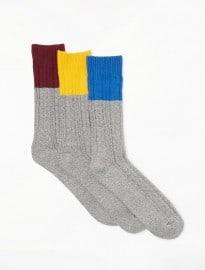 John Lewis & Partners Textured Boot Socks