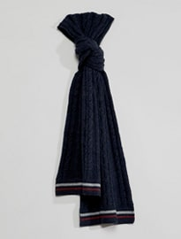Selected Homme Cable Scarf