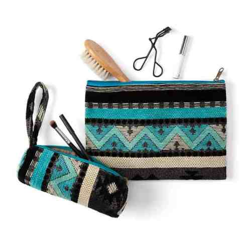 Moroccan Cosmetic Pouch Set