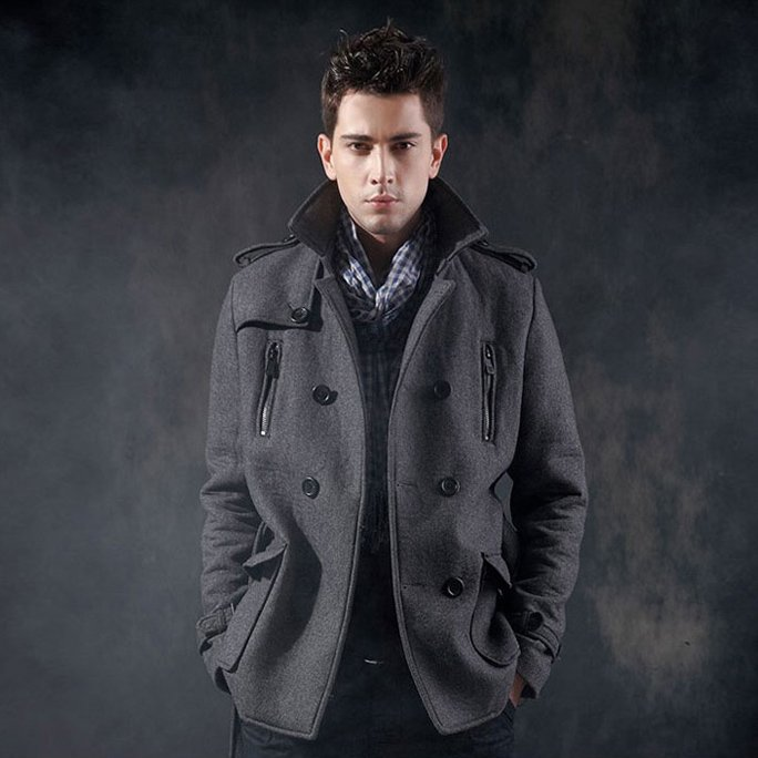 Pea Coats for Men Old Navy  Fashion Belief