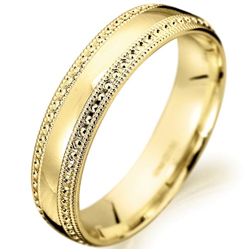 Womens Yellow Gold Wedding Bands Fashion Belief