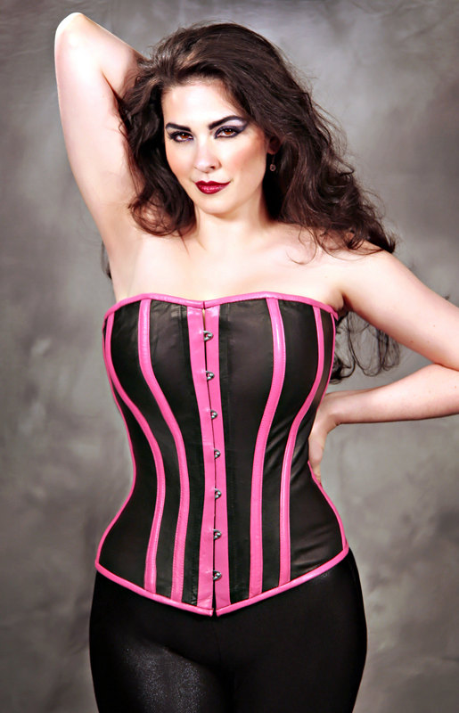 Plus Size Leather Corset Dress  Fashion Belief