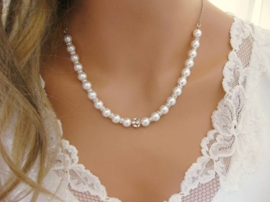 Bridal Accessories With Pearls And Crystals Fashion Belief