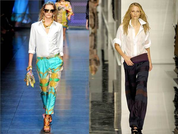 camicia-bianca-con-pantaloni-fantasia