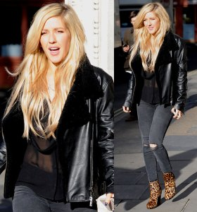 Ellie-Goulding-at-KISS-FM-Radio-Studios