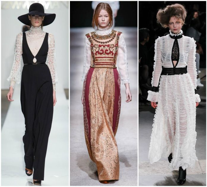 Sydne Style A to Z Trend Guide Fall Winter 2014 New York Fashion Week Runway Zimmermann, Alexander McQueen, Alberta Ferretti