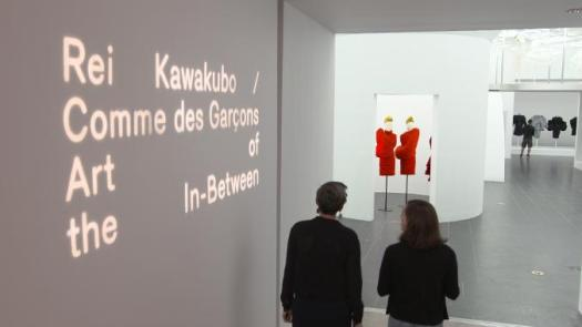 Rei Kawakubo exhibition in Met MUseum, New York