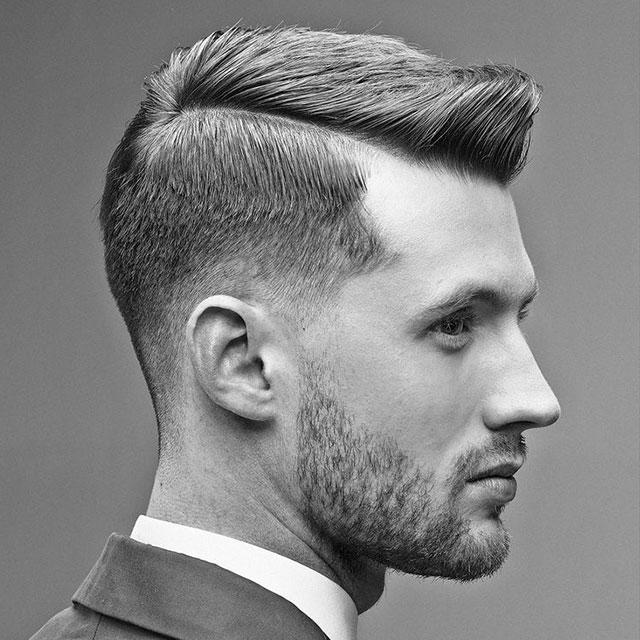 Fade Frisur Für Männer FASHIONBOXX