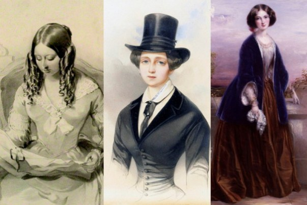 Queen-Victoria-1843-Dutchess-Catherine-Mikhailovna-1847-and-Effie-Gray-1851