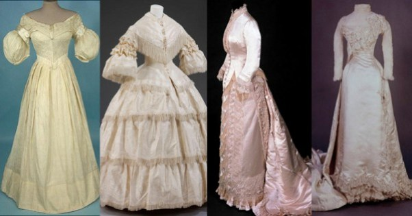 wedding-dresses-1840-to-1898