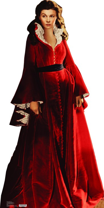 Scarlett O'Hara gone with the wind