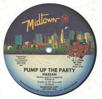 Hassan pump up the party