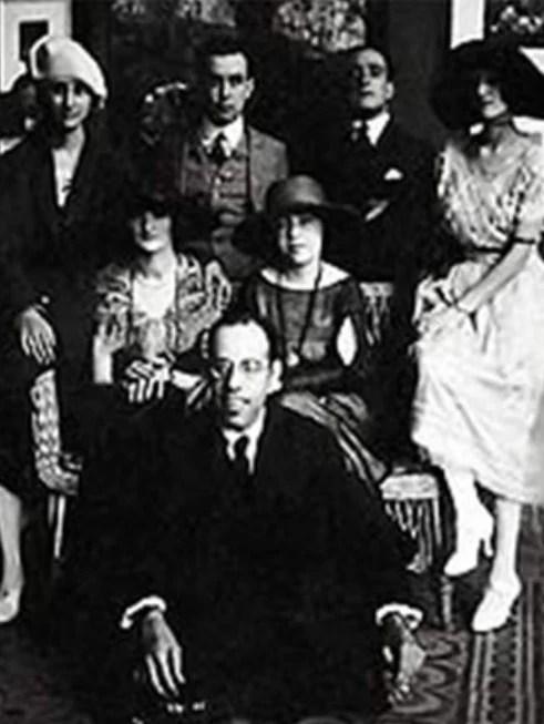Grupo de artistas modernistas