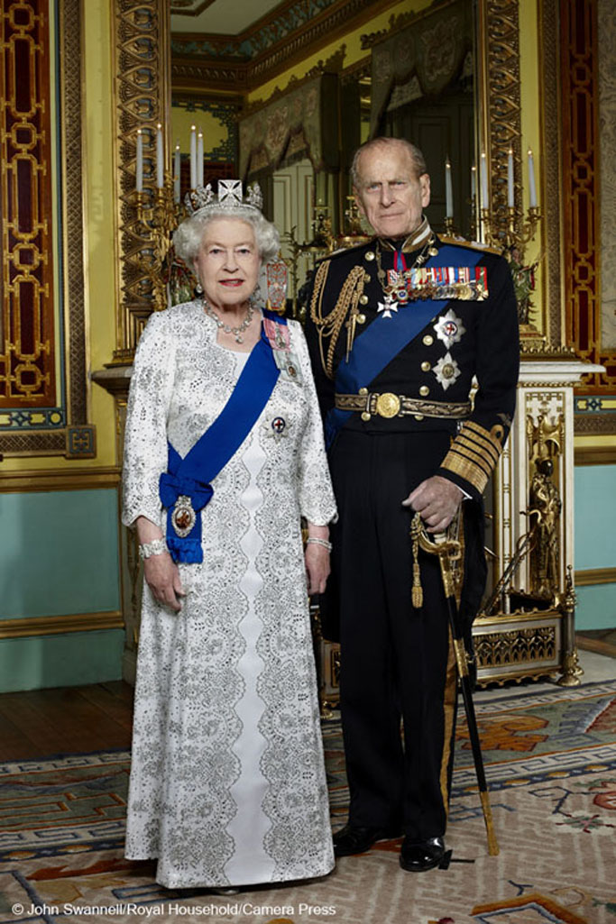 Official Diamond Jubilee Portrait