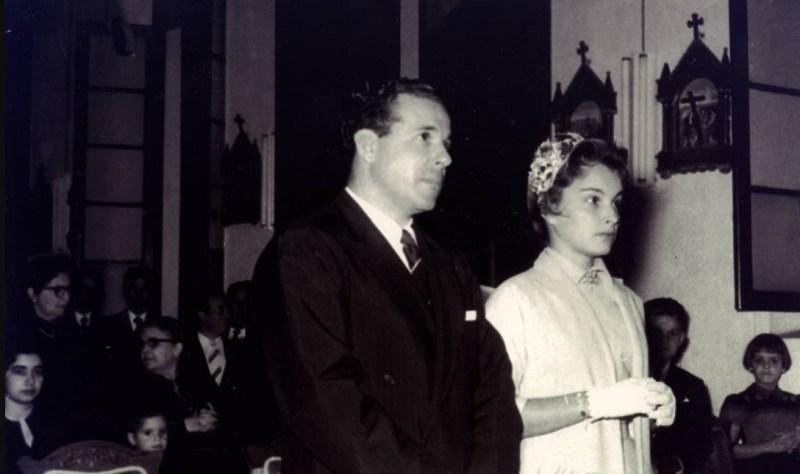 Casamento de João Goulart e Maria Thereza.