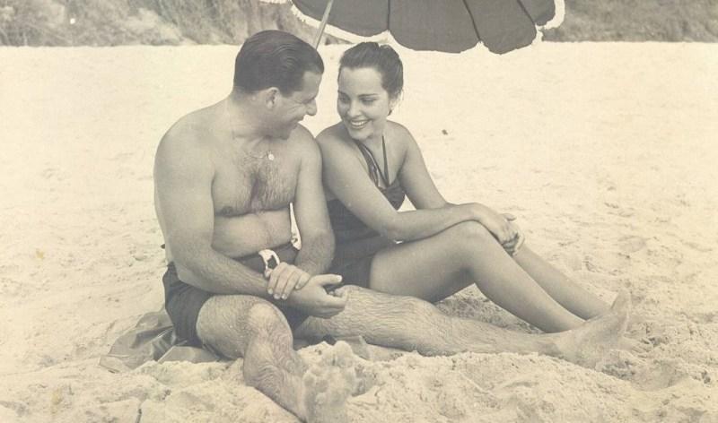 Maria Thereza e João Goulart, em 1953.