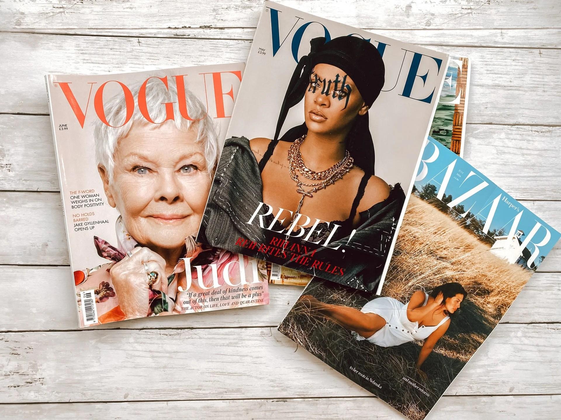 Revistas de Moda.