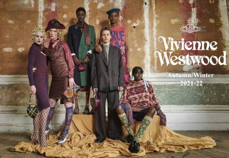 Coleção outono-inverno 21/22 de Vivienne Westwood.