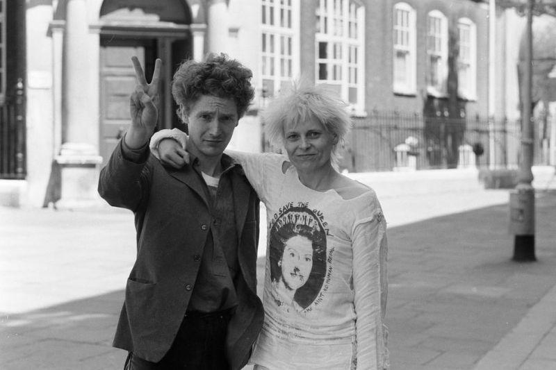 Westwood e Maclaren em 1970.