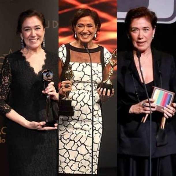 aqui Lilia recebendo prêmios